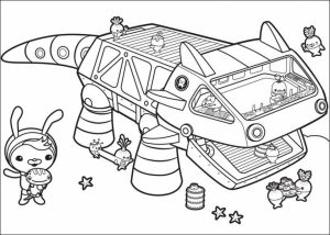 Octonauts Coloring Pages to Print Out   85930