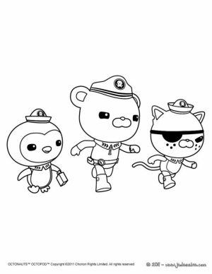 Octonauts Coloring Pages to Print Out   95631