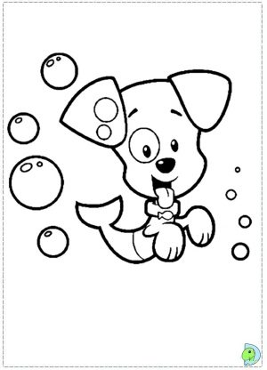 Online Bubble Guppies Coloring Pages   476854