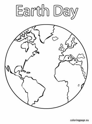 Online Earth Coloring Pages   a9m0j