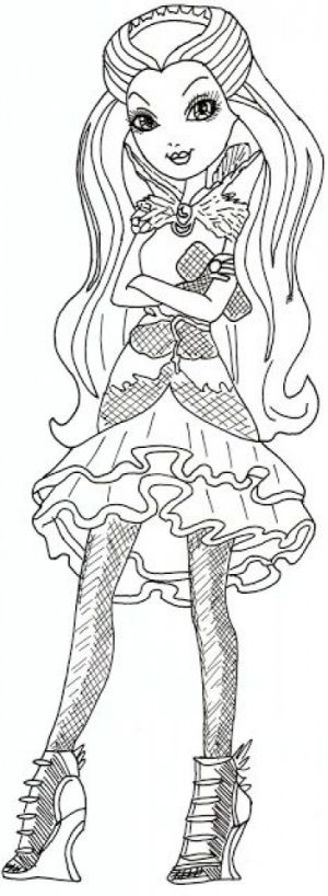 Online Ever After High Coloring Pages   38730