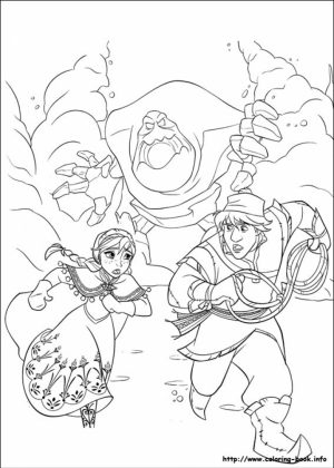 Online Frozen Coloring Pages   746219