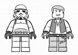 Online Lego Star Wars Coloring Pages   68497