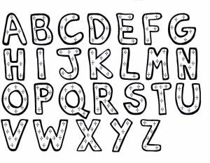 Online Letter Coloring Pages for Kids   8QgDr
