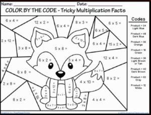 Online Math Coloring Pages for Kids   sz5em
