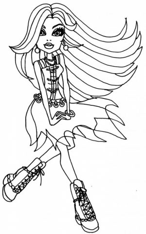 Online Monster High Coloring Pages   357862
