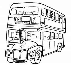 Online School Bus Coloring Pages   jzj9z