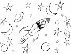 Online Space Coloring Pages   gkhlz