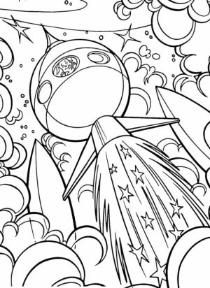 Online Space Coloring Pages   jzj9z