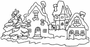 Online Winter Coloring Pages   569679
