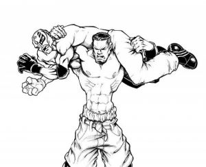 Online WWE Coloring Pages   98353