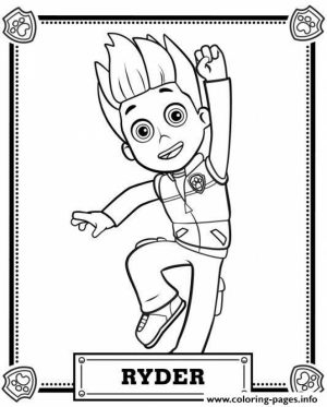 Paw Patrol Coloring Pages Free to Print   73961