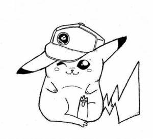 Pikachu Coloring Pages Online   y47d2