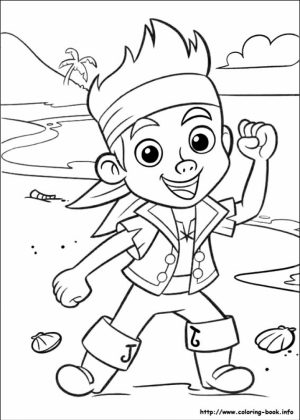 Pirate Jake Coloring Pages   78210