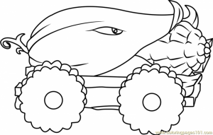 Plants Vs. Zombies Coloring Pages Fun Printables   mlct1