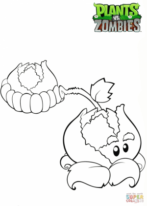 Plants Vs. Zombies Coloring Pages Printable   ydg41