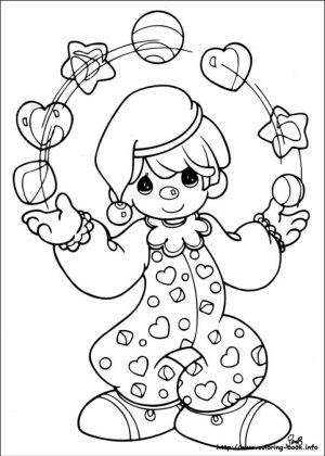 Precious Moments Coloring Pages to Print Out   31452