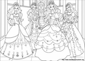 Preschool Printables of Barbie Coloring Pages Free   b3hca