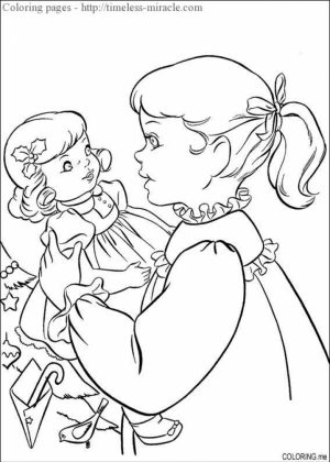 Printable American Girl Coloring Pages Online   2×542