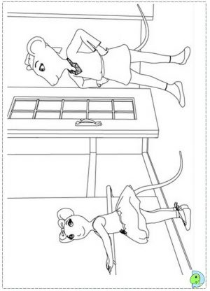 Printable Angelina Ballerina Coloring Pages Online   184766