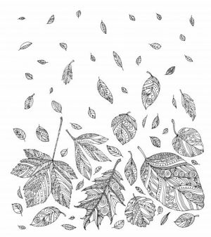 Printable Autumn Coloring Pages for Adults   483vg