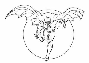 Printable Batman Coloring Pages   808706