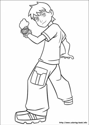 Printable Ben 10 Coloring Pages Online   gvjp13