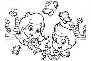 Bubble guppies Coloring Pages - Free Printable Coloring Pages at ... | 200x300