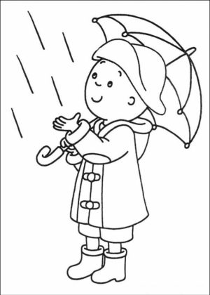 Printable Caillou Coloring Pages Online   2×552