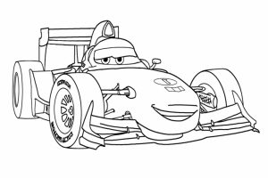 Printable Cars Coloring Pages Online   89887
