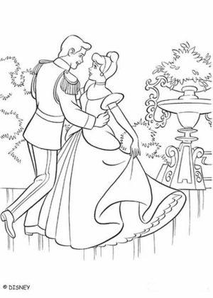 Printable Cinderella Coloring Pages Online   34671