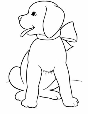 Printable Coloring Pages Of Dogs   87141