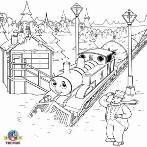 Printable Coloring Pages of Thomas the Train   27659