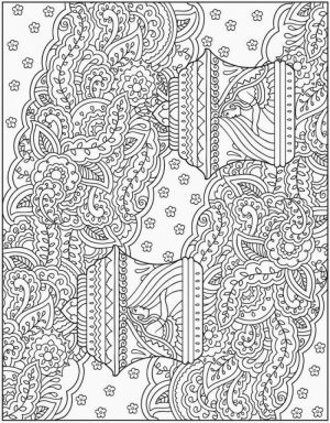 Printable Complex Coloring Pages for Grown Ups Free   1Z84B
