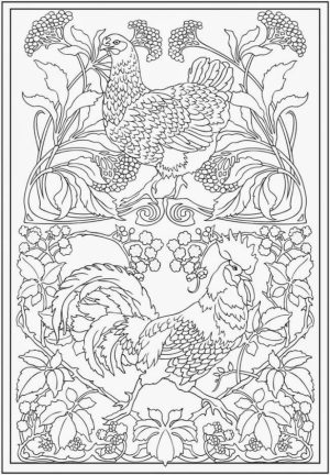 Printable Complex Coloring Pages for Grown Ups Free   4CHQL