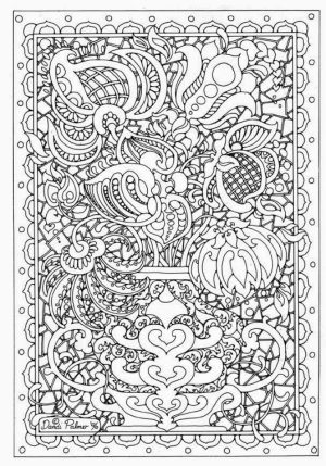 Printable Complex Coloring Pages for Grown Ups Free   9CTAK