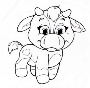 Printable Cute Coloring Pages for Preschoolers   52KG4
