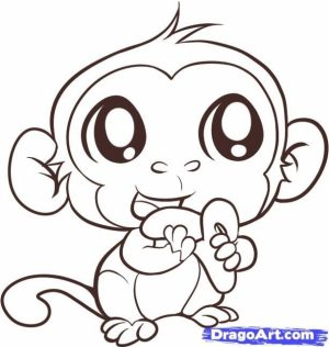Printable Cute Coloring Pages Online   46714