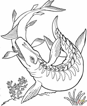 Printable Dinosaurs Coloring Pages   yzost