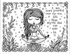 Printable Doodle Art Coloring Pages for Grown Ups   YZ091
