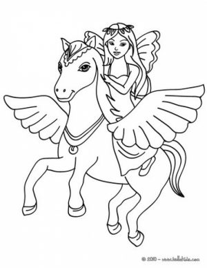 Printable Fairy Coloring Pages Online   76700
