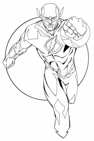 Printable Flash Coloring Pages   yzost