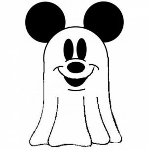 Printable Ghost Coloring Pages Online   59307
