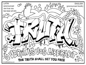 Graffiti Coloring Pages Pictures - Whitesbelfast | 227x300