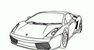 Printable Lamborghini Coloring Pages   63679