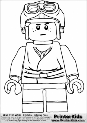 Printable Lego Star Wars Coloring Pages Online   7276
