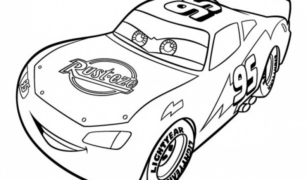 Get This Printable Lightning McQueen Coloring Pages 952213