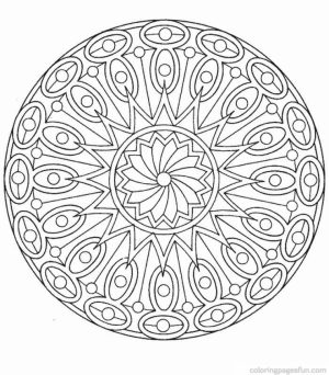 Printable Mandala Coloring Pages For Adults   78757