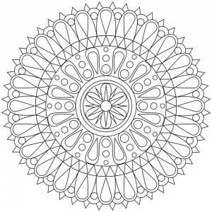 Printable Mandala Coloring Pages For Adults   84618