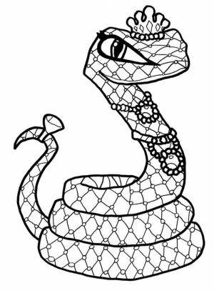 Printable Monster High Coloring Pages   811912